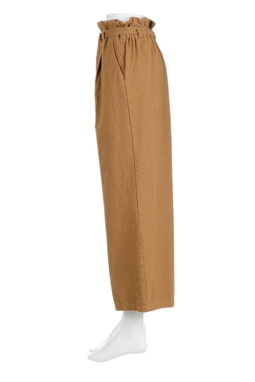 TuckedWideLegPants起毛加工・ワイドパンツ大人カジュアルに最適な海外ファッションのothers(その他インポートアイテム)のボトムやパンツ。合わせやすさ抜群のワイドパンツ。起毛加工された温かみのある素材を使用。/main-7