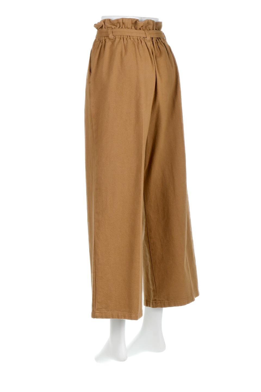 TuckedWideLegPants起毛加工・ワイドパンツ大人カジュアルに最適な海外ファッションのothers(その他インポートアイテム)のボトムやパンツ。合わせやすさ抜群のワイドパンツ。起毛加工された温かみのある素材を使用。/main-8