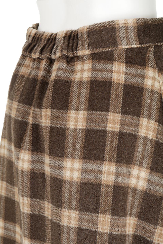 CheckPatternedA-LineLongSkirtAライン・チェックロングスカート大人カジュアルに最適な海外ファッションのothers(その他インポートアイテム)のボトムやスカート。合わせやすさ抜群のチェック柄ロングスカート。表面が起毛した温もりのある生地を使用した季節感のあるスカート。/main-23