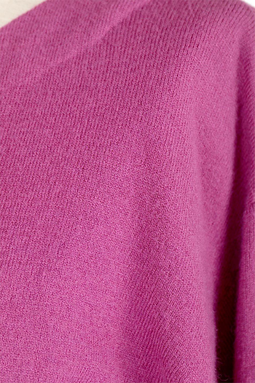 3DTwistSleeveKnitTopツイストスリーブ・ニットトップス大人カジュアルに最適な海外ファッションのothers(その他インポートアイテム)のトップスやニット・セーター。ねじれた袖とモチッと柔か質感が特徴のニットプルオーバー。レーヨン混の糸はチクチクする事無く肌触り◎空きすぎないボートネックの抜け感が上品です。/main-25