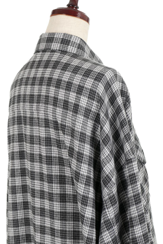 CheckPatternedFlannelBigShirtsチェック柄・ビッグネルシャツ大人カジュアルに最適な海外ファッションのothers(その他インポートアイテム)のトップスやシャツ・ブラウス。シャツジャケットとしても活躍するビッグサイズのネルシャツ。秋に嬉しい生地感とカラーリングで人気の商品です。/main-16