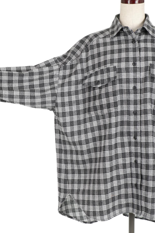 CheckPatternedFlannelBigShirtsチェック柄・ビッグネルシャツ大人カジュアルに最適な海外ファッションのothers(その他インポートアイテム)のトップスやシャツ・ブラウス。シャツジャケットとしても活躍するビッグサイズのネルシャツ。秋に嬉しい生地感とカラーリングで人気の商品です。/main-17