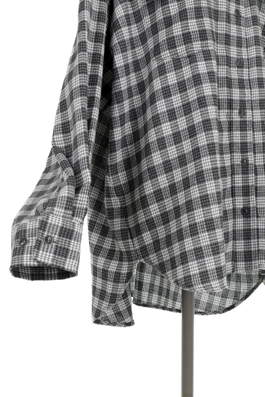 CheckPatternedFlannelBigShirtsチェック柄・ビッグネルシャツ大人カジュアルに最適な海外ファッションのothers(その他インポートアイテム)のトップスやシャツ・ブラウス。シャツジャケットとしても活躍するビッグサイズのネルシャツ。秋に嬉しい生地感とカラーリングで人気の商品です。/main-19