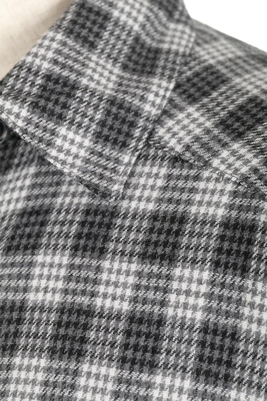 CheckPatternedFlannelBigShirtsチェック柄・ビッグネルシャツ大人カジュアルに最適な海外ファッションのothers(その他インポートアイテム)のトップスやシャツ・ブラウス。シャツジャケットとしても活躍するビッグサイズのネルシャツ。秋に嬉しい生地感とカラーリングで人気の商品です。/main-20