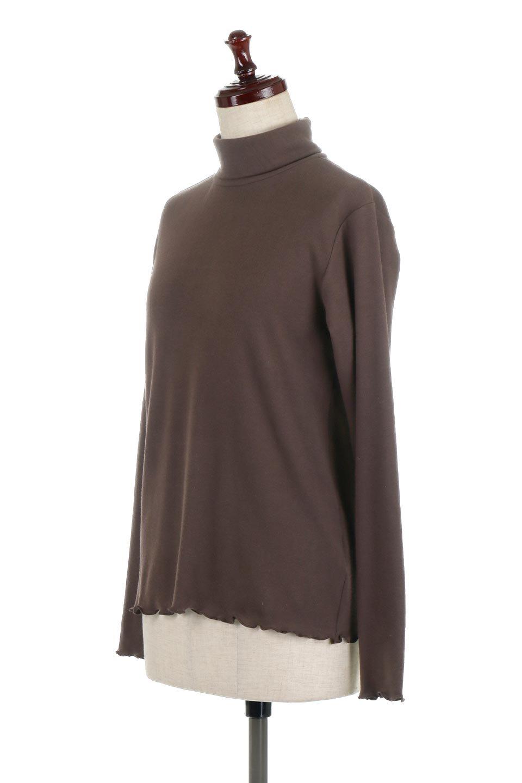MellowHemDesignTopメロウヘム・タートルネック大人カジュアルに最適な海外ファッションのothers(その他インポートアイテム)のトップスやカットソー。インナーとして大活躍間違いなしのタートルネック。すっきりとした袖は様々なアウターなどに邪魔にならないデザインです。/main-11