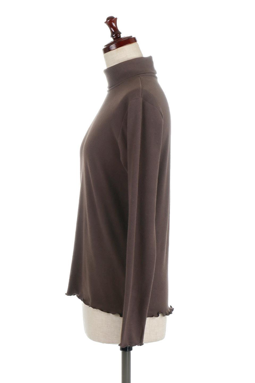 MellowHemDesignTopメロウヘム・タートルネック大人カジュアルに最適な海外ファッションのothers(その他インポートアイテム)のトップスやカットソー。インナーとして大活躍間違いなしのタートルネック。すっきりとした袖は様々なアウターなどに邪魔にならないデザインです。/main-12