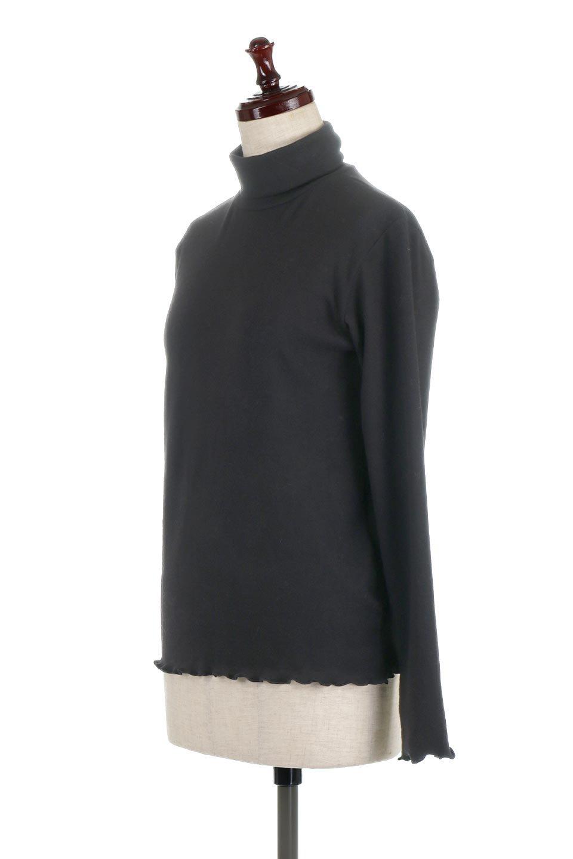 MellowHemDesignTopメロウヘム・タートルネック大人カジュアルに最適な海外ファッションのothers(その他インポートアイテム)のトップスやカットソー。インナーとして大活躍間違いなしのタートルネック。すっきりとした袖は様々なアウターなどに邪魔にならないデザインです。/main-16