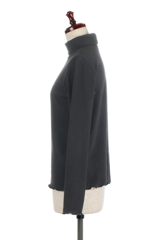 MellowHemDesignTopメロウヘム・タートルネック大人カジュアルに最適な海外ファッションのothers(その他インポートアイテム)のトップスやカットソー。インナーとして大活躍間違いなしのタートルネック。すっきりとした袖は様々なアウターなどに邪魔にならないデザインです。/main-17