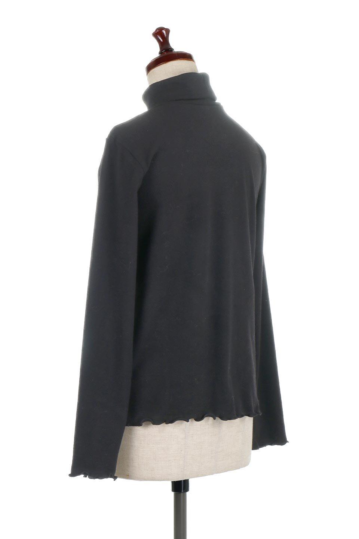 MellowHemDesignTopメロウヘム・タートルネック大人カジュアルに最適な海外ファッションのothers(その他インポートアイテム)のトップスやカットソー。インナーとして大活躍間違いなしのタートルネック。すっきりとした袖は様々なアウターなどに邪魔にならないデザインです。/main-18