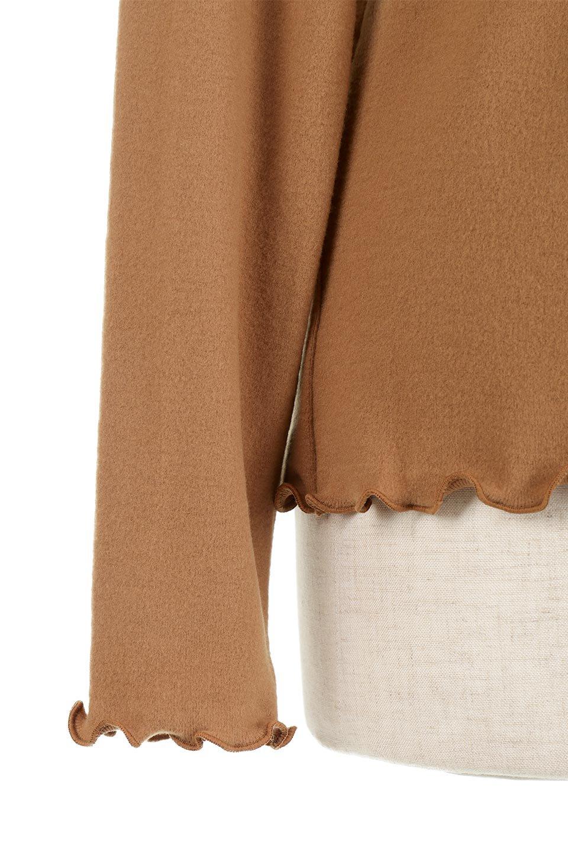 MellowHemDesignTopメロウヘム・タートルネック大人カジュアルに最適な海外ファッションのothers(その他インポートアイテム)のトップスやカットソー。インナーとして大活躍間違いなしのタートルネック。すっきりとした袖は様々なアウターなどに邪魔にならないデザインです。/main-23