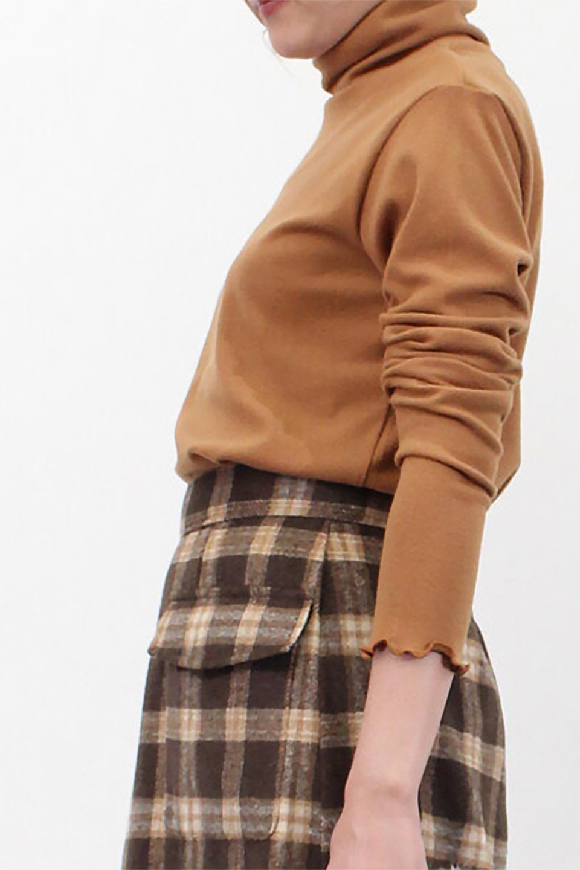 MellowHemDesignTopメロウヘム・タートルネック大人カジュアルに最適な海外ファッションのothers(その他インポートアイテム)のトップスやカットソー。インナーとして大活躍間違いなしのタートルネック。すっきりとした袖は様々なアウターなどに邪魔にならないデザインです。/main-26