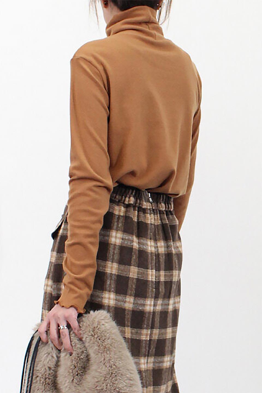 MellowHemDesignTopメロウヘム・タートルネック大人カジュアルに最適な海外ファッションのothers(その他インポートアイテム)のトップスやカットソー。インナーとして大活躍間違いなしのタートルネック。すっきりとした袖は様々なアウターなどに邪魔にならないデザインです。/main-27