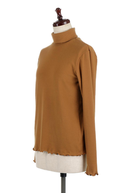 MellowHemDesignTopメロウヘム・タートルネック大人カジュアルに最適な海外ファッションのothers(その他インポートアイテム)のトップスやカットソー。インナーとして大活躍間違いなしのタートルネック。すっきりとした袖は様々なアウターなどに邪魔にならないデザインです。/main-6