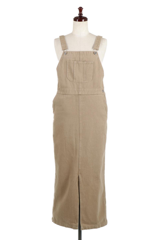 SemiTightJumperDressセミタイト・ジャンパースカート大人カジュアルに最適な海外ファッションのothers(その他インポートアイテム)のワンピースやマキシワンピース。ワークテイストのロング丈ジャンパースカート。セミタイトのシルエットでガーリーになりすぎない大人っぽいコーデが楽しめます。