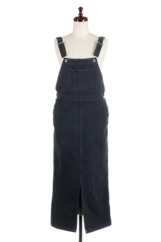 SemiTightJumperDressセミタイト・ジャンパースカート大人カジュアルに最適な海外ファッションのothers(その他インポートアイテム)のワンピースやマキシワンピース。ワークテイストのロング丈ジャンパースカート。セミタイトのシルエットでガーリーになりすぎない大人っぽいコーデが楽しめます。/main-10