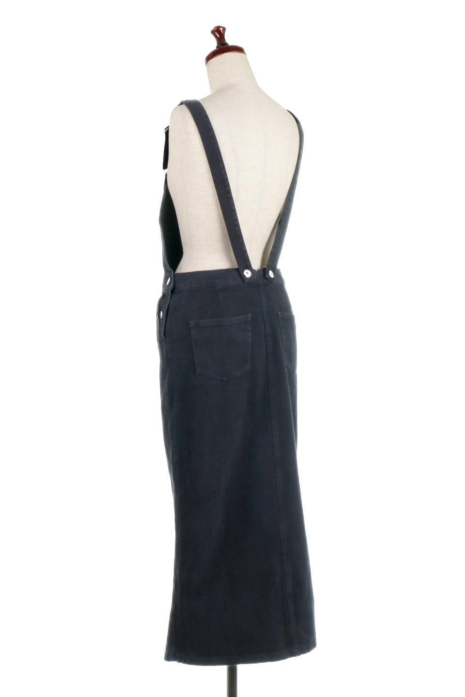 SemiTightJumperDressセミタイト・ジャンパースカート大人カジュアルに最適な海外ファッションのothers(その他インポートアイテム)のワンピースやマキシワンピース。ワークテイストのロング丈ジャンパースカート。セミタイトのシルエットでガーリーになりすぎない大人っぽいコーデが楽しめます。/main-13