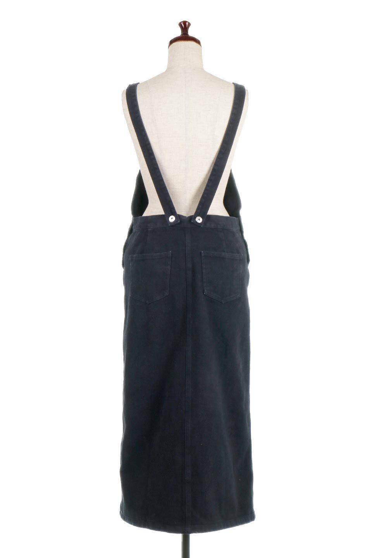 SemiTightJumperDressセミタイト・ジャンパースカート大人カジュアルに最適な海外ファッションのothers(その他インポートアイテム)のワンピースやマキシワンピース。ワークテイストのロング丈ジャンパースカート。セミタイトのシルエットでガーリーになりすぎない大人っぽいコーデが楽しめます。/main-14