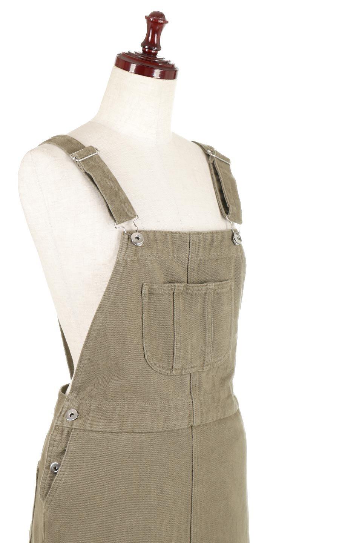 SemiTightJumperDressセミタイト・ジャンパースカート大人カジュアルに最適な海外ファッションのothers(その他インポートアイテム)のワンピースやマキシワンピース。ワークテイストのロング丈ジャンパースカート。セミタイトのシルエットでガーリーになりすぎない大人っぽいコーデが楽しめます。/main-15