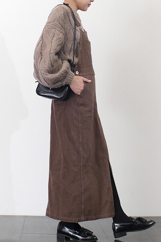 SemiTightJumperDressセミタイト・ジャンパースカート大人カジュアルに最適な海外ファッションのothers(その他インポートアイテム)のワンピースやマキシワンピース。ワークテイストのロング丈ジャンパースカート。セミタイトのシルエットでガーリーになりすぎない大人っぽいコーデが楽しめます。/main-27