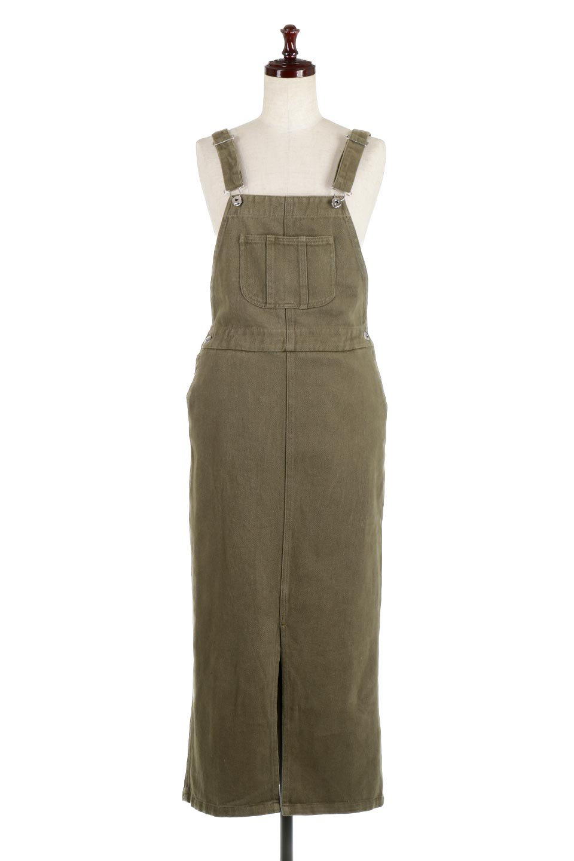 SemiTightJumperDressセミタイト・ジャンパースカート大人カジュアルに最適な海外ファッションのothers(その他インポートアイテム)のワンピースやマキシワンピース。ワークテイストのロング丈ジャンパースカート。セミタイトのシルエットでガーリーになりすぎない大人っぽいコーデが楽しめます。/main-5