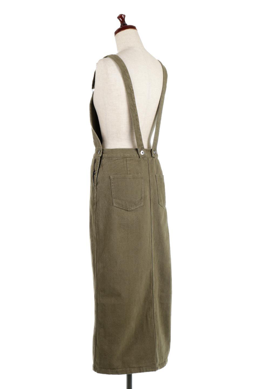 SemiTightJumperDressセミタイト・ジャンパースカート大人カジュアルに最適な海外ファッションのothers(その他インポートアイテム)のワンピースやマキシワンピース。ワークテイストのロング丈ジャンパースカート。セミタイトのシルエットでガーリーになりすぎない大人っぽいコーデが楽しめます。/main-8