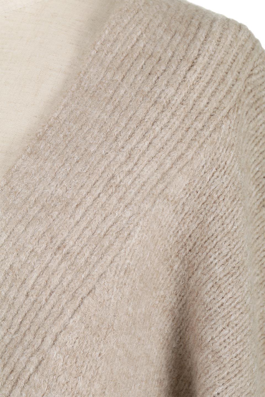 SoftKnitDolmanCardiganもちもちニット・ドルマンカーディガン大人カジュアルに最適な海外ファッションのothers(その他インポートアイテム)のトップスやニット・セーター。ふっくらモチモチのソフトなニットを使用したドルマンスリーブのカーディガン。ショート丈に長めの袖がとてもかわいいニットです。/main-17