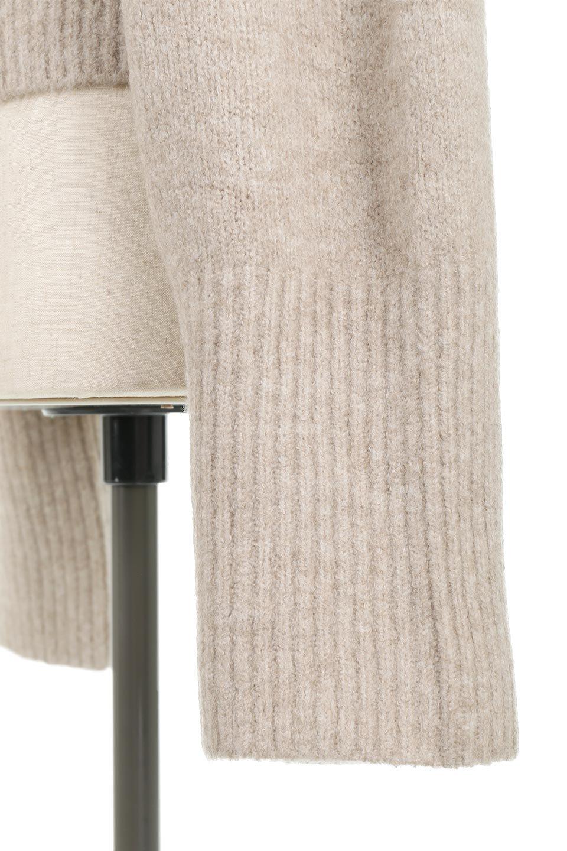 SoftKnitDolmanCardiganもちもちニット・ドルマンカーディガン大人カジュアルに最適な海外ファッションのothers(その他インポートアイテム)のトップスやニット・セーター。ふっくらモチモチのソフトなニットを使用したドルマンスリーブのカーディガン。ショート丈に長めの袖がとてもかわいいニットです。/main-21