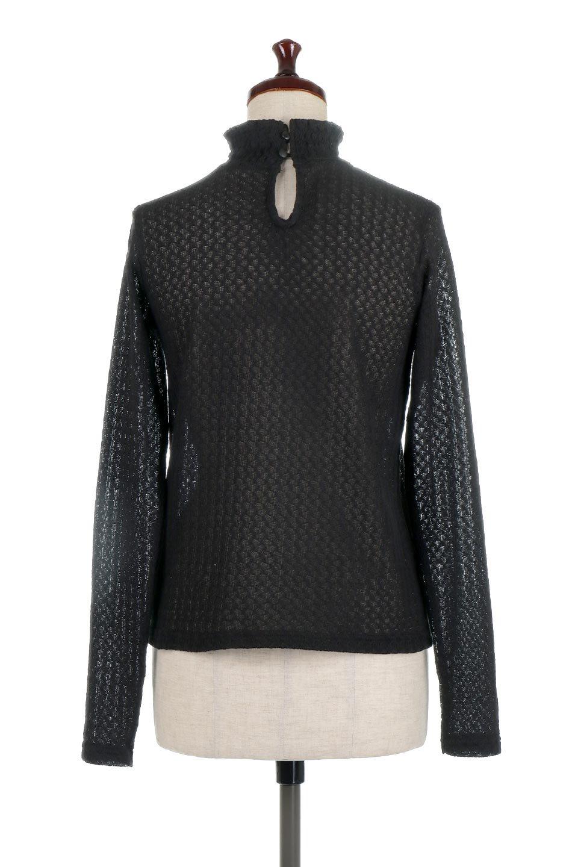 LaceHighNeckTop模様編み・ハイネックトップス大人カジュアルに最適な海外ファッションのothers(その他インポートアイテム)のトップスやカットソー。大人っぽい着こなしができる模様編みのハイネックトップス。ストレッチ性のある生地で動きやすさも抜群です。/main-19