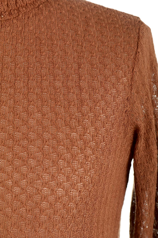 LaceHighNeckTop模様編み・ハイネックトップス大人カジュアルに最適な海外ファッションのothers(その他インポートアイテム)のトップスやカットソー。大人っぽい着こなしができる模様編みのハイネックトップス。ストレッチ性のある生地で動きやすさも抜群です。/main-24