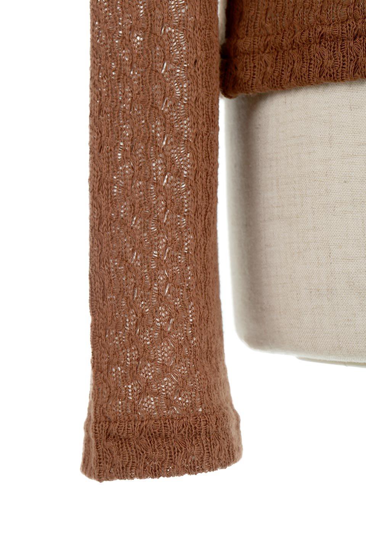 LaceHighNeckTop模様編み・ハイネックトップス大人カジュアルに最適な海外ファッションのothers(その他インポートアイテム)のトップスやカットソー。大人っぽい着こなしができる模様編みのハイネックトップス。ストレッチ性のある生地で動きやすさも抜群です。/main-25