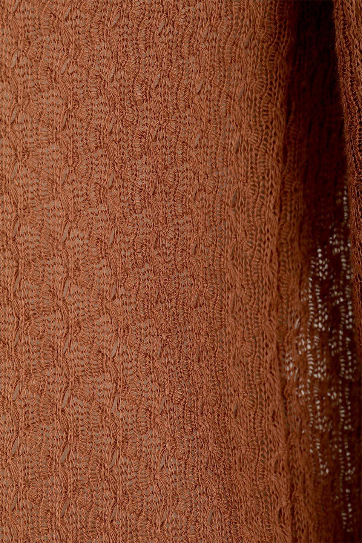 LaceHighNeckTop模様編み・ハイネックトップス大人カジュアルに最適な海外ファッションのothers(その他インポートアイテム)のトップスやカットソー。大人っぽい着こなしができる模様編みのハイネックトップス。ストレッチ性のある生地で動きやすさも抜群です。/main-27