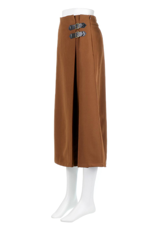 DoubleBeltedDeepTuckSkirtダブルベルト・タックスカート大人カジュアルに最適な海外ファッションのothers(その他インポートアイテム)のボトムやスカート。着まわしやすさ抜群のダックスカート。ウエストのダブルベルトがアクセントのロング丈。/main-1