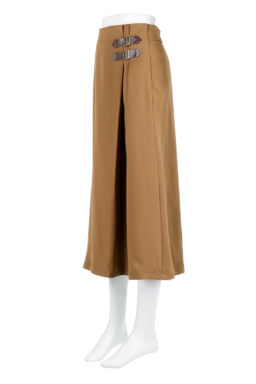 DoubleBeltedDeepTuckSkirtダブルベルト・タックスカート大人カジュアルに最適な海外ファッションのothers(その他インポートアイテム)のボトムやスカート。着まわしやすさ抜群のダックスカート。ウエストのダブルベルトがアクセントのロング丈。/main-11