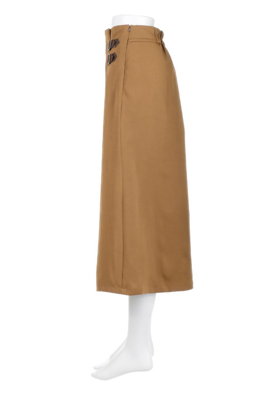 DoubleBeltedDeepTuckSkirtダブルベルト・タックスカート大人カジュアルに最適な海外ファッションのothers(その他インポートアイテム)のボトムやスカート。着まわしやすさ抜群のダックスカート。ウエストのダブルベルトがアクセントのロング丈。/main-12
