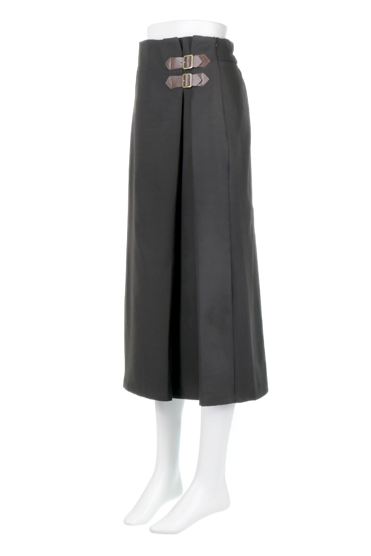 DoubleBeltedDeepTuckSkirtダブルベルト・タックスカート大人カジュアルに最適な海外ファッションのothers(その他インポートアイテム)のボトムやスカート。着まわしやすさ抜群のダックスカート。ウエストのダブルベルトがアクセントのロング丈。/main-16
