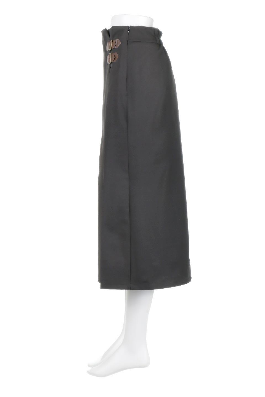 DoubleBeltedDeepTuckSkirtダブルベルト・タックスカート大人カジュアルに最適な海外ファッションのothers(その他インポートアイテム)のボトムやスカート。着まわしやすさ抜群のダックスカート。ウエストのダブルベルトがアクセントのロング丈。/main-17