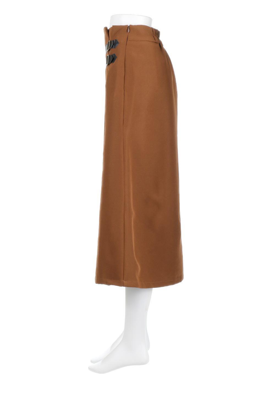 DoubleBeltedDeepTuckSkirtダブルベルト・タックスカート大人カジュアルに最適な海外ファッションのothers(その他インポートアイテム)のボトムやスカート。着まわしやすさ抜群のダックスカート。ウエストのダブルベルトがアクセントのロング丈。/main-2