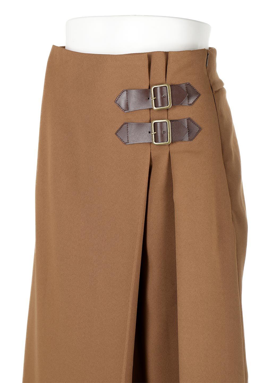 DoubleBeltedDeepTuckSkirtダブルベルト・タックスカート大人カジュアルに最適な海外ファッションのothers(その他インポートアイテム)のボトムやスカート。着まわしやすさ抜群のダックスカート。ウエストのダブルベルトがアクセントのロング丈。/main-22
