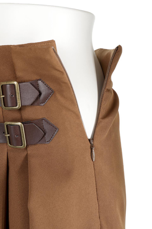 DoubleBeltedDeepTuckSkirtダブルベルト・タックスカート大人カジュアルに最適な海外ファッションのothers(その他インポートアイテム)のボトムやスカート。着まわしやすさ抜群のダックスカート。ウエストのダブルベルトがアクセントのロング丈。/main-24