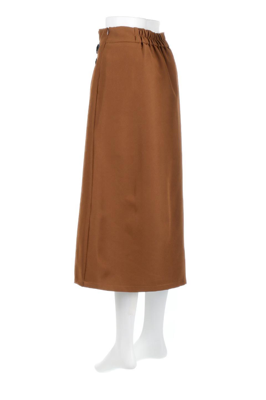 DoubleBeltedDeepTuckSkirtダブルベルト・タックスカート大人カジュアルに最適な海外ファッションのothers(その他インポートアイテム)のボトムやスカート。着まわしやすさ抜群のダックスカート。ウエストのダブルベルトがアクセントのロング丈。/main-3