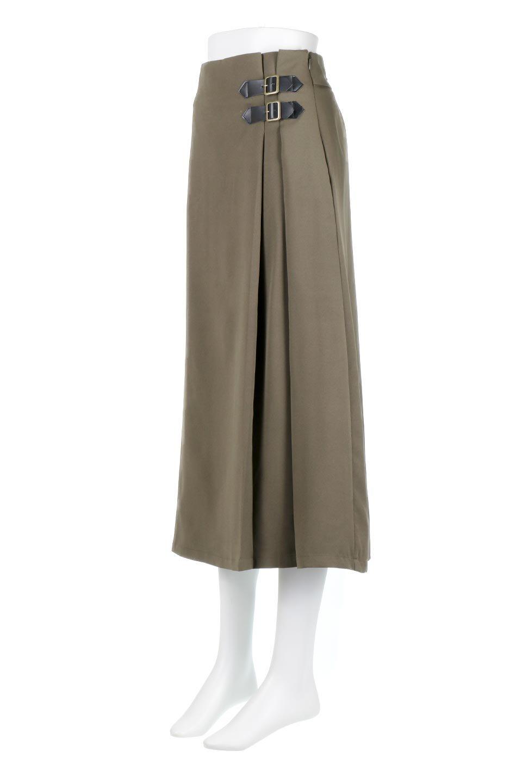 DoubleBeltedDeepTuckSkirtダブルベルト・タックスカート大人カジュアルに最適な海外ファッションのothers(その他インポートアイテム)のボトムやスカート。着まわしやすさ抜群のダックスカート。ウエストのダブルベルトがアクセントのロング丈。/main-6