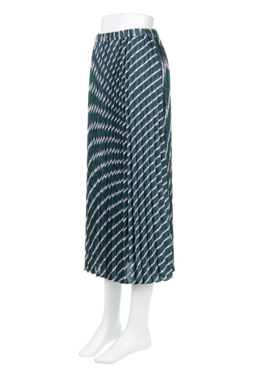 CheckPanelPleatedSkirtバイアス切換え・プリーツスカート大人カジュアルに最適な海外ファッションのothers(その他インポートアイテム)のボトムやスカート。トレンドのプリーツアイテムをチェック柄とMIXさせた可愛いスカート。チェックの記事はバイアス(斜め)に切り替えて表情豊かな仕上がりになっていますレトロな雰囲気も感じるおすすめのスカートです。/main-6