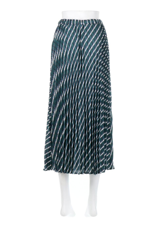 CheckPanelPleatedSkirtバイアス切換え・プリーツスカート大人カジュアルに最適な海外ファッションのothers(その他インポートアイテム)のボトムやスカート。トレンドのプリーツアイテムをチェック柄とMIXさせた可愛いスカート。チェックの記事はバイアス(斜め)に切り替えて表情豊かな仕上がりになっていますレトロな雰囲気も感じるおすすめのスカートです。/main-9