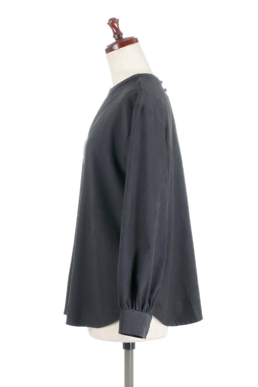 PeachFace2WayBlouseピーチフェイス加工・2Wayブラウス大人カジュアルに最適な海外ファッションのothers(その他インポートアイテム)のトップスやシャツ・ブラウス。前後どちらでも楽しめる2Wayタイプの長袖ブラウス。表面を起毛させたピーチフェイス加工で温もりのある肌触りです。/main-12