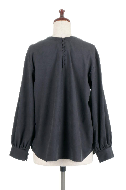 PeachFace2WayBlouseピーチフェイス加工・2Wayブラウス大人カジュアルに最適な海外ファッションのothers(その他インポートアイテム)のトップスやシャツ・ブラウス。前後どちらでも楽しめる2Wayタイプの長袖ブラウス。表面を起毛させたピーチフェイス加工で温もりのある肌触りです。/main-14