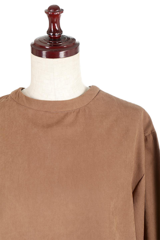PeachFace2WayBlouseピーチフェイス加工・2Wayブラウス大人カジュアルに最適な海外ファッションのothers(その他インポートアイテム)のトップスやシャツ・ブラウス。前後どちらでも楽しめる2Wayタイプの長袖ブラウス。表面を起毛させたピーチフェイス加工で温もりのある肌触りです。/main-15