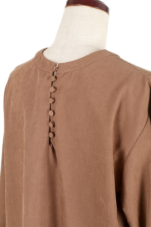 PeachFace2WayBlouseピーチフェイス加工・2Wayブラウス大人カジュアルに最適な海外ファッションのothers(その他インポートアイテム)のトップスやシャツ・ブラウス。前後どちらでも楽しめる2Wayタイプの長袖ブラウス。表面を起毛させたピーチフェイス加工で温もりのある肌触りです。/main-17
