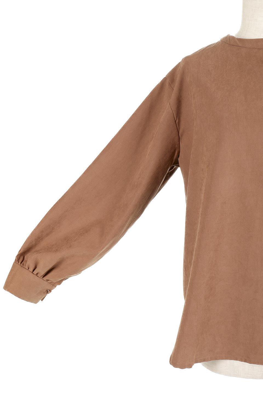 PeachFace2WayBlouseピーチフェイス加工・2Wayブラウス大人カジュアルに最適な海外ファッションのothers(その他インポートアイテム)のトップスやシャツ・ブラウス。前後どちらでも楽しめる2Wayタイプの長袖ブラウス。表面を起毛させたピーチフェイス加工で温もりのある肌触りです。/main-18