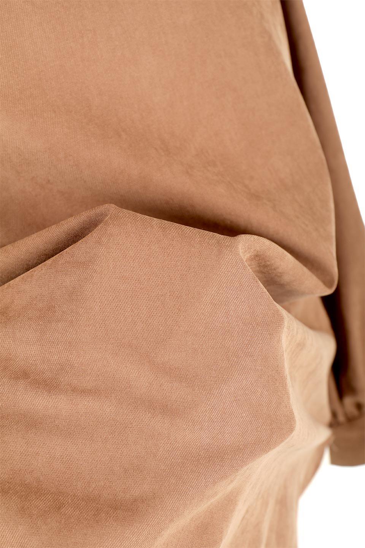 PeachFace2WayBlouseピーチフェイス加工・2Wayブラウス大人カジュアルに最適な海外ファッションのothers(その他インポートアイテム)のトップスやシャツ・ブラウス。前後どちらでも楽しめる2Wayタイプの長袖ブラウス。表面を起毛させたピーチフェイス加工で温もりのある肌触りです。/main-22