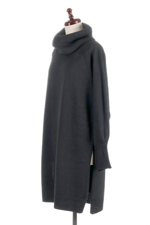 SoftKnitOffTurtle-NeckPullOverカシミアタッチ・オフタートルプルオーバー大人カジュアルに最適な海外ファッションのothers(その他インポートアイテム)のトップスやニット・セーター。大人っぽい着こなしができる模様編みのハイネックトップス。ストレッチ性のある生地で動きやすさも抜群です。/main-16